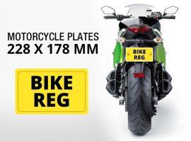 Motor Bike Plates