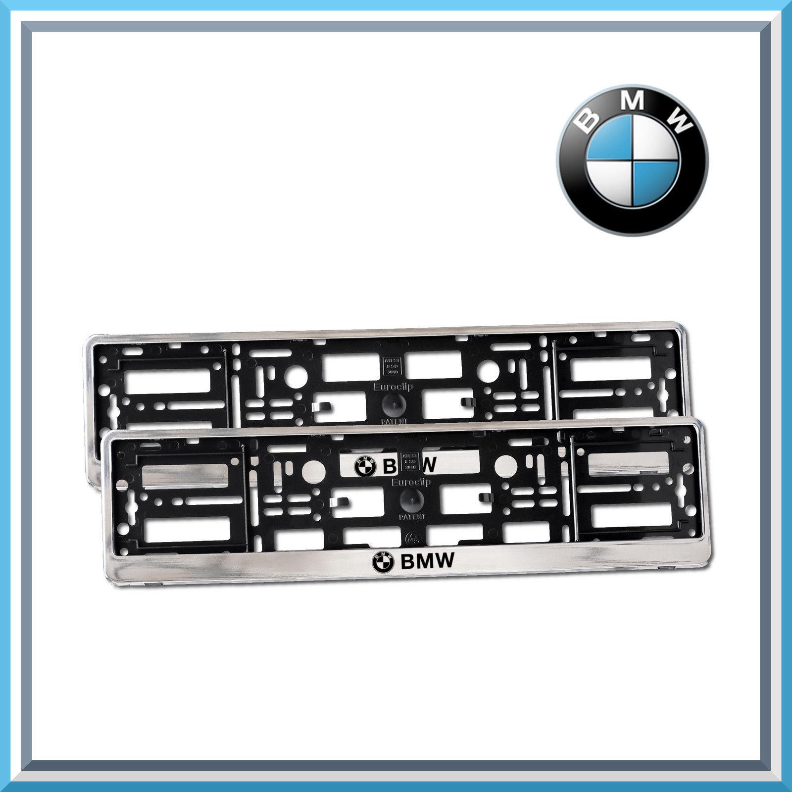 Mercedes AMG Black Number Plate Holder Licence Plate Surround Frame ...