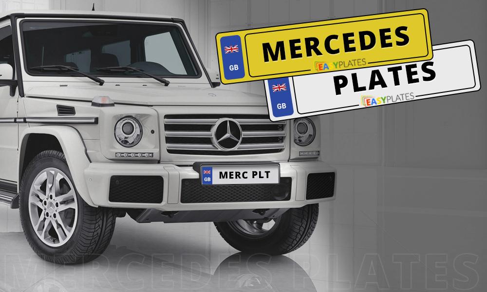 Mercedes Benz Number Plates