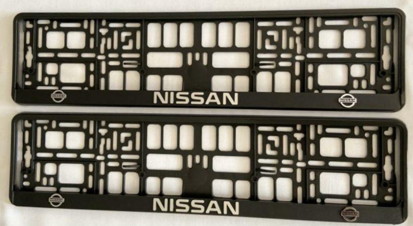 Nissan Number Plate Holder Surrounds